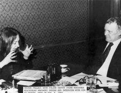 Oriana a Varsavia con Rakowski nel 1982 - Foto - Oriana Fallaci