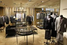 French luxury maison Lanvin is opening this September a dedicated men's store in New York, at 815 Madison Avenue.