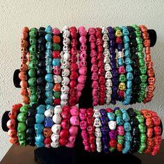 Fun and Colorful Magnesite Gemstones - http://lysetremblayjewelry.ca/fun-and-colorful-magnesite-gemstones