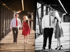 Date | February 2016  Location | Trolley Square Mall  Trolley Square engagement photography | Morgan Leigh Photography