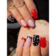 #nail #nails #nailart #naillove #nailswag #nails2inspire #instanail #instanails #instanailpolish #sping #springnails #fashion #fashionista #fashionnails #lovenails #red #rednails #black #blacknails #kurmaiagica #kurmaiagicanails @nailpromagazine @nails2inspire @pattern @nail_art_club_ @nails_page__ @nails_of_instagram @nails.of.instagraam @nails_of_insta