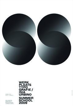 Summer_School Плакат к Летней дизайн-школе в Урбино.2009