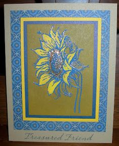 Show and Tell, with Michelle: May Stamp of the Month Blog Hop