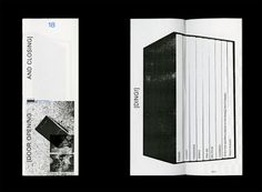 yalegraphicdesign:  This Week 18 (booklet series), 2015 Designed by Ryan Gerald Nelson (MFA 2015)