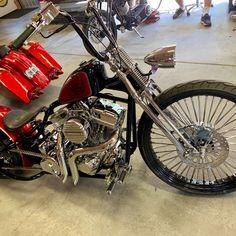 Sportster Chopper, Harley Bobber, Chopper Motorcycle, Harley Bikes, Motorcycle Paint Jobs, Motorcycle Design, Motorcycle Style, Concept Motorcycles, Custom Motorcycles