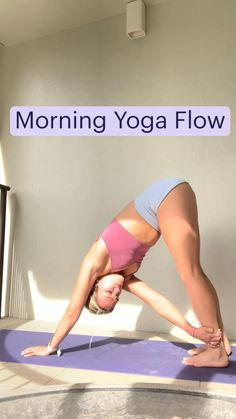 Full Body Gym Workout, Gym Workout Tips, Yoga Workouts, Exercises, Morning Yoga Flow, Morning Yoga Routine, Dance Workout Videos, Yoga Videos, Gym Workout For Beginners