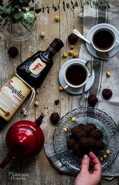 Sobremesa perfecta: Frangelico con lima y trufas de dulce de leche y licor de avellana