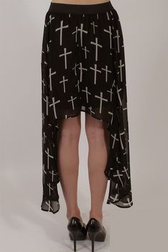 #beyondtrends.com         #Skirt                    #Shark #Bite #Chiffon #Cross #Skirt                 Shark Bite Chiffon Cross Skirt                                                http://www.seapai.com/product.aspx?PID=79656
