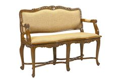 U-3074-0749B Braslou Banquette in Light Cherry available at French Heritage