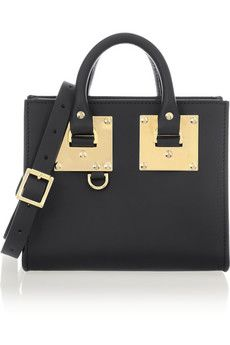 Sophie Hulme Leather tote | NET-A-PORTER