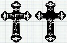 Michelle's Adventures with Digital Creations: Easter Cross: UPDATED afgelaai Cross Silhouette, Silhouette Fonts, Silhouette Machine, Silhouette Cameo Projects, Silhouette Design, Vinyl Crafts, Vinyl Projects, Shilouette Cameo, Easter Cross