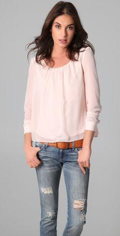 patterson j kincaid // astral blouse