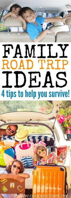 Need family road trip ideas? Here are 4 Things to do on a Road trip with Kids