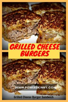 Hamburger Recipes, Ground Beef Recipes, Meat Recipes, Cooking Recipes, Best Sandwich, Sandwich Recipes, Beef Dishes, Food Dishes, Grilled Cheese Burger