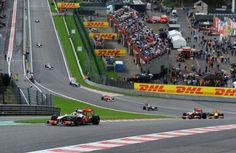 Spa Francochamps F1 Belgian Grand Prix