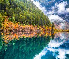 Национальный парк Цзючжайгоу, Китай. Фото: Feng Wei