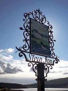 Waternish - Stein Inn sign by grantfk10, via Flickr