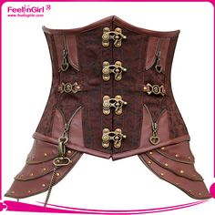 Cheap zipper jacket, Buy Quality zipper machine directly from China corset fashion Suppliers: 	  	 Welcom to Feelingirls Fashion				Wholesale brown sexy women corset steampunk brocade corsets shaper