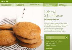 Le mot de Madame Labriski: «Cette galette  est idéale pour les écoliers. Son nom est amusant et les enfants l'adorent. Vous ferez un effet monstre avec ces mignons mognons!  Pourquoi s'en priver? Source de fibres,  de glucides d'absorption rapide et de fer.» Biscuit Cookies, Yummy Cookies, Dessert Tofu, Desserts Sains, Madame, Cookie Bars, Biscuits, Healthy Desserts, Scones