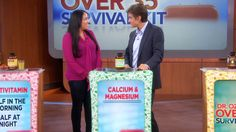 The 4 Vitamins Every Woman Needs: Are you confused about which vitamins you need to take? Dr. Oz simplifies his instructions and explains the 4 absolutely...