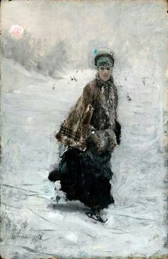 1875, by Giuseppe de Nittis (Italian artist, 1846-1884)