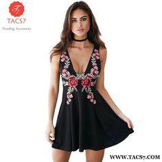 Evening Party Fashion Ladies Dress Floral Sundress ba735f50b