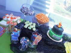 Slugterra pool party | CatchMyParty.com