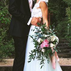 bohém esküvő, bohém csokor, greenery, bohemian wedding, esküvő dekoráció, menyasszonyi csokor, pink white wedding bouquet