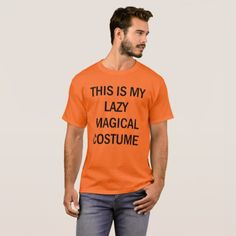 This is My Lazy Magical Halloween Costume Men T-Shirt http://ift.tt/2em0FcB #happyhalloween #halloween2017 #halloweenmakeup #halloweencostume