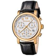 WENGER 01.1043.106 Pánske hodinky s chronografom a dátumom