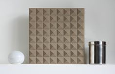 wall-panel-art-sculpture-recycled-leather-modern by Submaterial, via Flickr