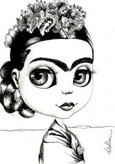 Frida Kahlo Coloring Page Lovely Frida Khalo Coloring Pages Knows How to Rock that Eyebrow Situation Frida Diego Rivera, Mexican Artists, Mexican Folk Art, Frida And Diego, Woman Painting, Pencil Art, Madonna, Coloring Pages, Coloring Sheets