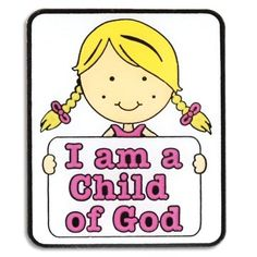 So Cool -  LDS I Am a Child of God Pin for Girls - Primary Gift, Baptism Gift - 2013 Primary Theme / http://livinglds.com/lds-i-am-a-child-of-god-pin-for-girls-primary-gift-baptism-gift-2013-primary-theme-2/