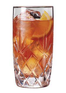 Gentleman's Tea (#cocktail recipe - Jack Daniel's, lemonade, tea, lemon-lime soda)