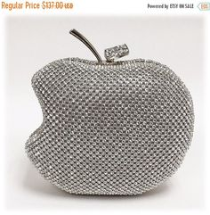 Wedding clutch Apple clutch Apple bagformal clutch by GlamDuchess