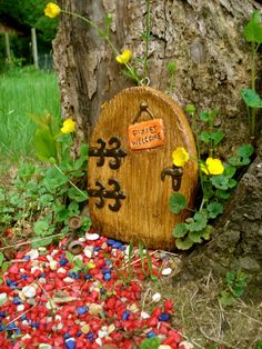 Fairy Door   The Pixie Door  Door  Die Stone by FairybehindtheDoor, $22.50  I wish I were small enough to travel through this door - to see if there's any magic on the otherside!   JR