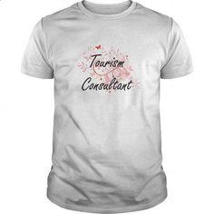 Tourism Consultant Artistic Job Design with Butterflies - #t shirt creator #wholesale hoodies. SIMILAR ITEMS => https://www.sunfrog.com/Jobs/Tourism-Consultant-Artistic-Job-Design-with-Butterflies-White-Guys.html?60505