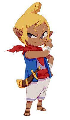 tetra by nemurism Female Character Design, Character Design Inspiration, Character Concept, Character Art, Concept Art, Wind Waker, Link Art, Human Art, Legend Of Zelda
