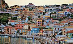 The beautiful colors of Parga