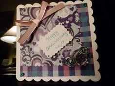 Birthday card made with cricut art philosophy my homemade cricut
