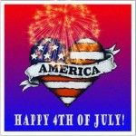 Happy 4th of July 2014 Animated Gif, Clipart Pictures, Images