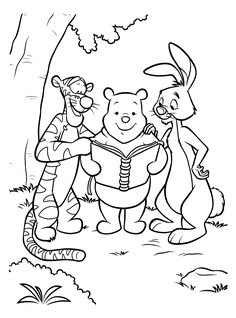 Coloring Page - Winnie the pooh coloring pages 27