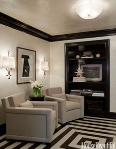 Cool Floors - Painted Floor - House Beautiful