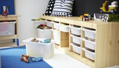 Creative+Storage+Solutions+For+Messy+Kids'+Toys+via+@PureWow