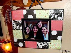 Scrapbook Frame - great gift