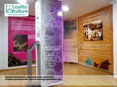 Diseño expositivo, museografía, exposiciones museos con Grupo Axfito