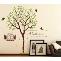 Tree Shelters Wall Decals