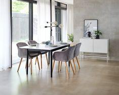 Spisebord MARSTRAND L180/260 hvit/svart   JYSK Budapest, Dining Table, Furniture, Home Decor, Decoration Home, Room Decor, Dinner Table, Home Furnishings, Dining Room Table