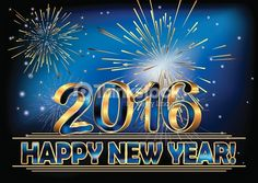 Happy New Year 2016 Images, Wallpapers, Wishes, Quotes, SMS, Cakes ...