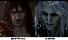 Dracula and Alucard by dagedragon on DeviantArt